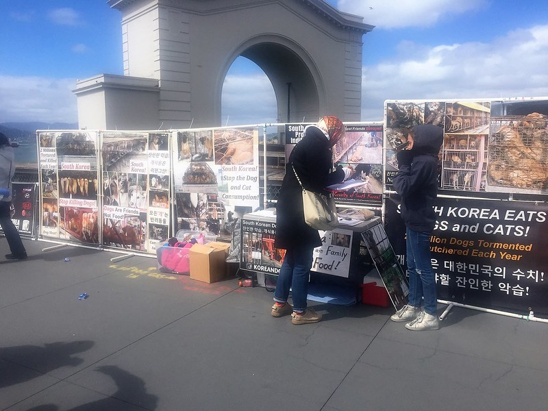 San Francisco, Fisherman's Wharf Leafleting Event – March 24, 2018