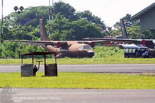 Indonesian Air Force CASA/IPTN CN-235; @HLP 2017