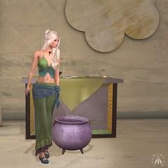 Altar and Cauldron