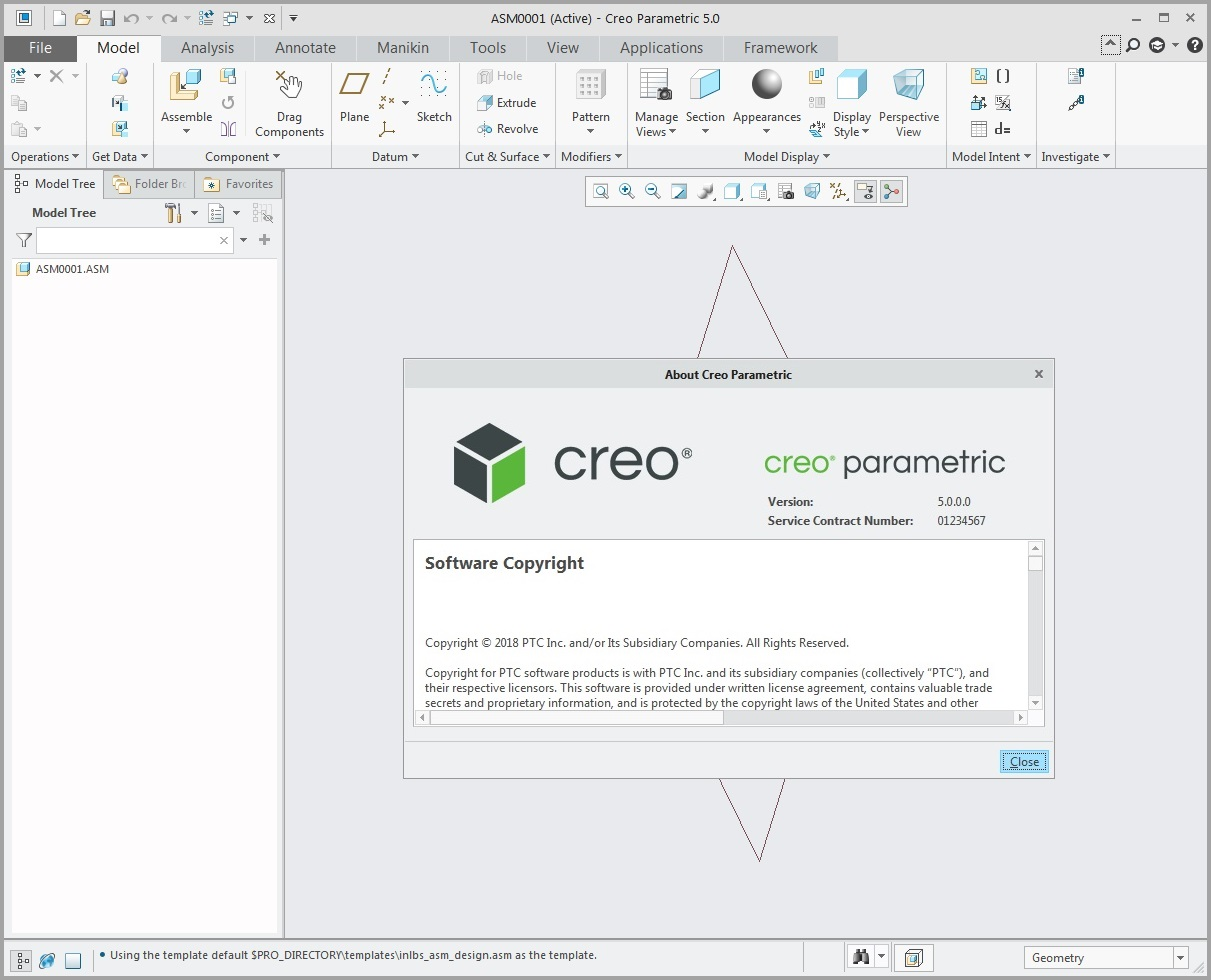 Working with PTC Creo Simulate 5.0 F000 x64 full crack