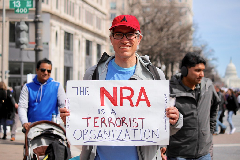 The NRA is a terrorist organization