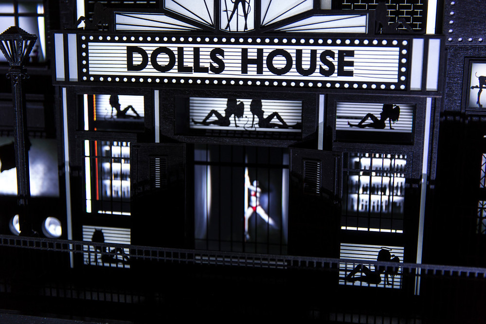 The Dark Dolls House - The McGuires. Photo: James Mulkeen