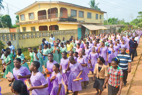 20th anniversary celebrations at Louisville Girls High School, Ijebu-Itele, Ogun State, Nigeria, 2018