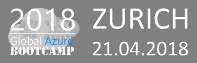 Azure Global Bootcamp, Zurich Switzerland