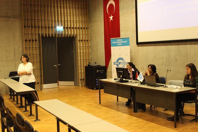 Gemi Mühendisleri Odası, Kadın Komisyonu'nun düzenlediği  'Ağır Sanayide Kadının Yeri'  semineri Piri Reis Üniversitesi'nde yapıldı.