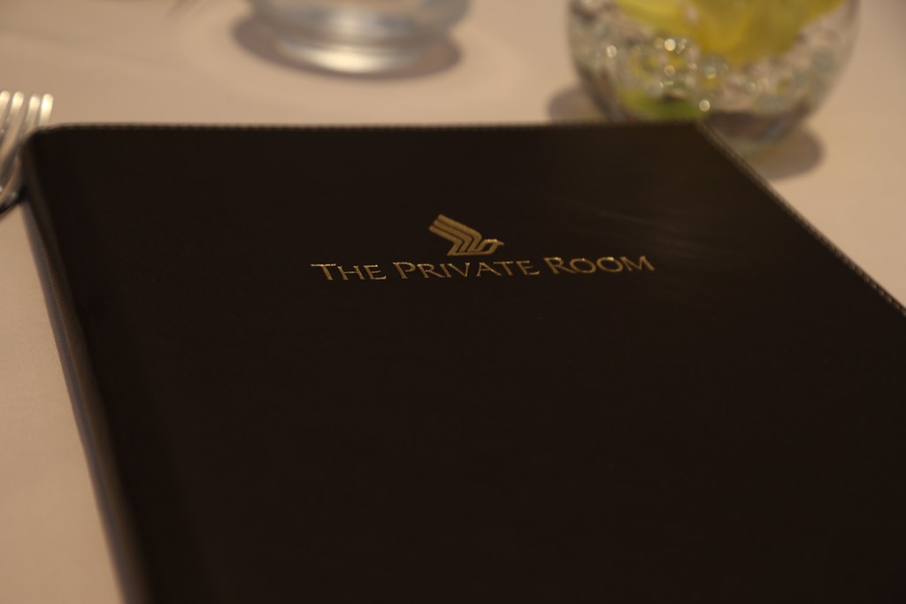 The Private Room Singapore Airlines 36