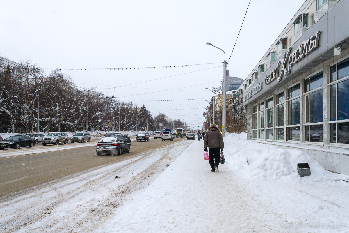 Центр Уфы зимой фото IMG_1087