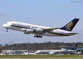 F-WWSS Airbus A380 Singapore Airlines