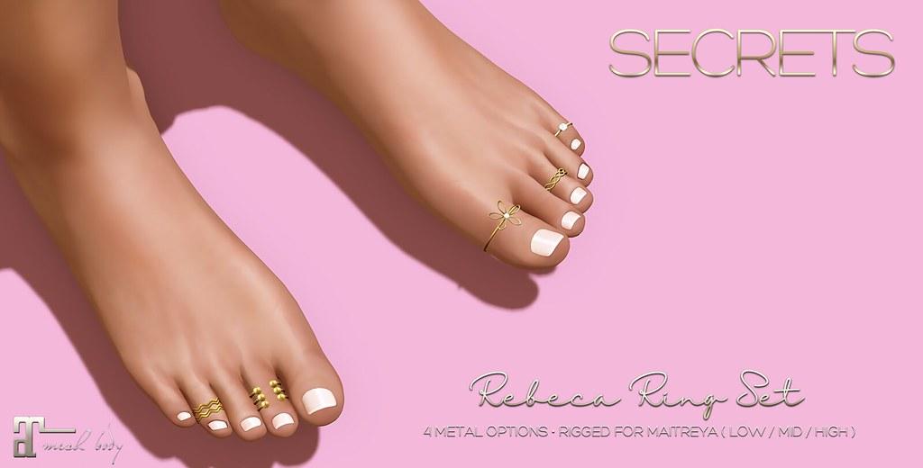 -SECRETS- Rebeca Ring Set - TeleportHub.com Live!