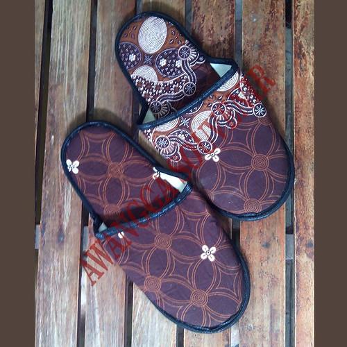 sandal hotel selop  batik 5k