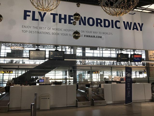 Fly the Nordic way