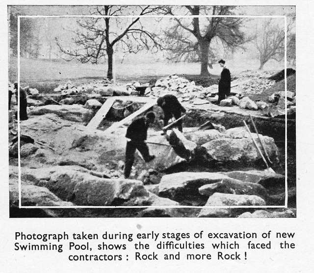 New Swimming Pool, July 1948.