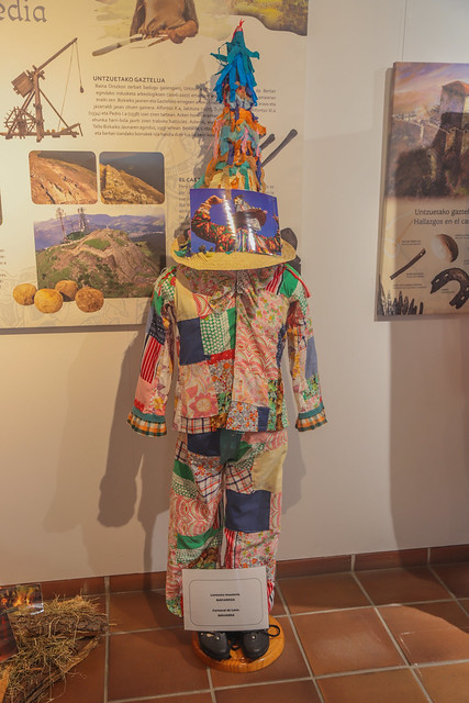 LANTXEKO INAUTERIA - NAFARROA/NAVARRA - CARNAVAL DE LANZ . Museo de Orozko 2018 #DePaseoConLarri #Flickr -11