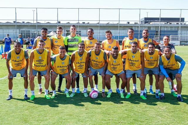 Treino Grêmio 17/03/18