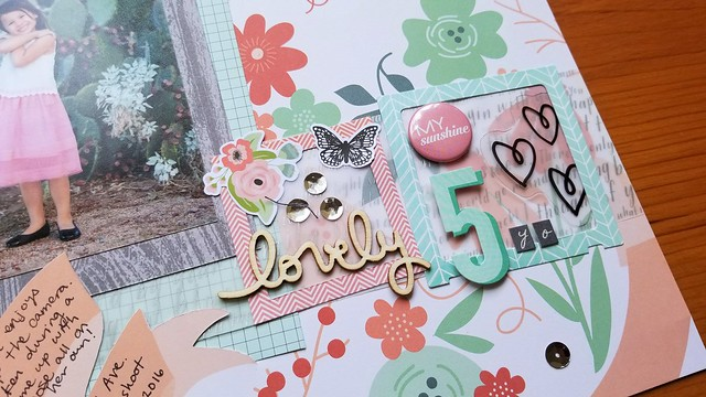 Evelyn Lovely 5 Layout | shirley shirley bo birley Blog
