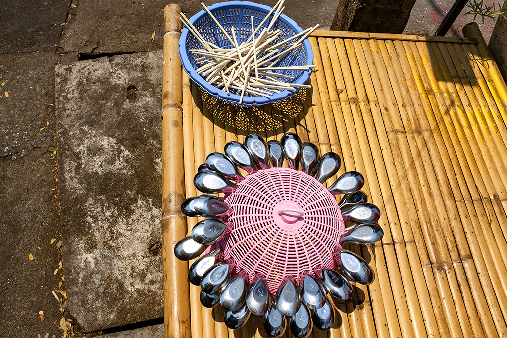 Spoons and chopsticks--Chanthaburi