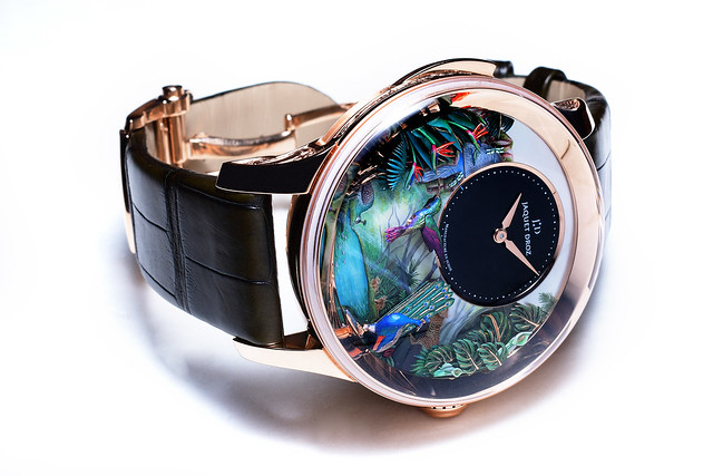 Jaquet Droz Tropical Bird Repeater Watch