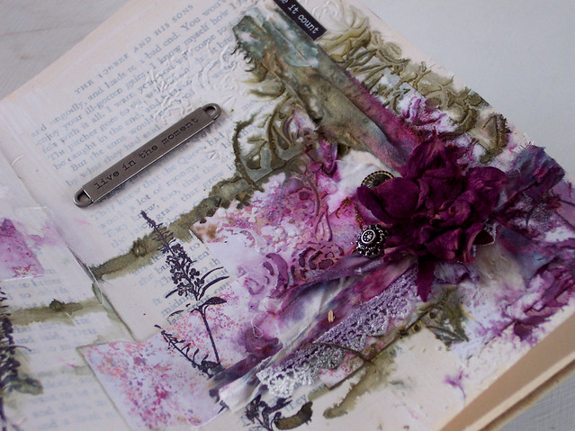 floral art journal pages 1