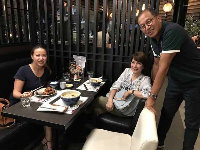 Family dinner in Greenhills, March 24, 2018
