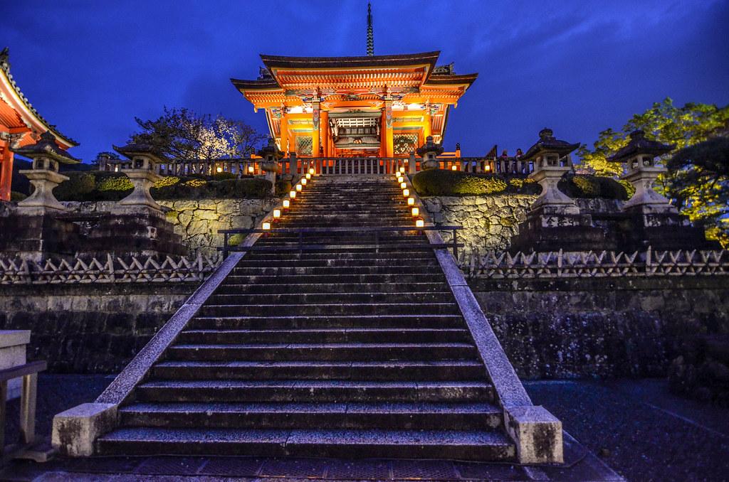 Kiyomizu-dera stairs