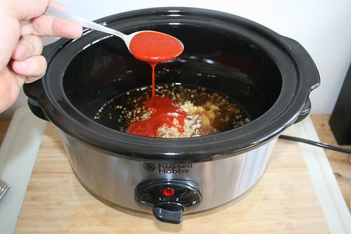 22 - Sriracha-Sauce hinzufügen / Add sriracha sauce