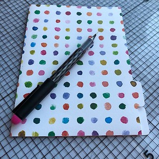 Excited to share the latest addition to my #etsy shop: Multicolored dots B6 Traveler's Notebook Dashboard Folder with Tabs fits Foxy Fix #5 http://etsy.me/2HGD8Qk