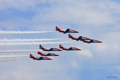 Patrulla Águila. Motril Airshow 2015