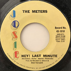 THE METERS:CHICKEN STRUT(LABEL SIDE-B)