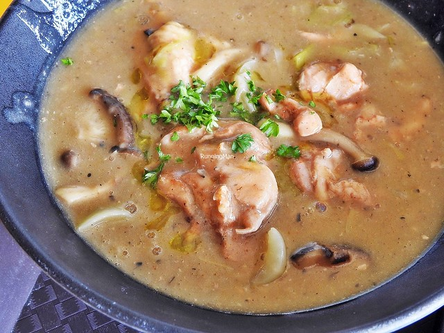 Chicken And Mushroom Veloute