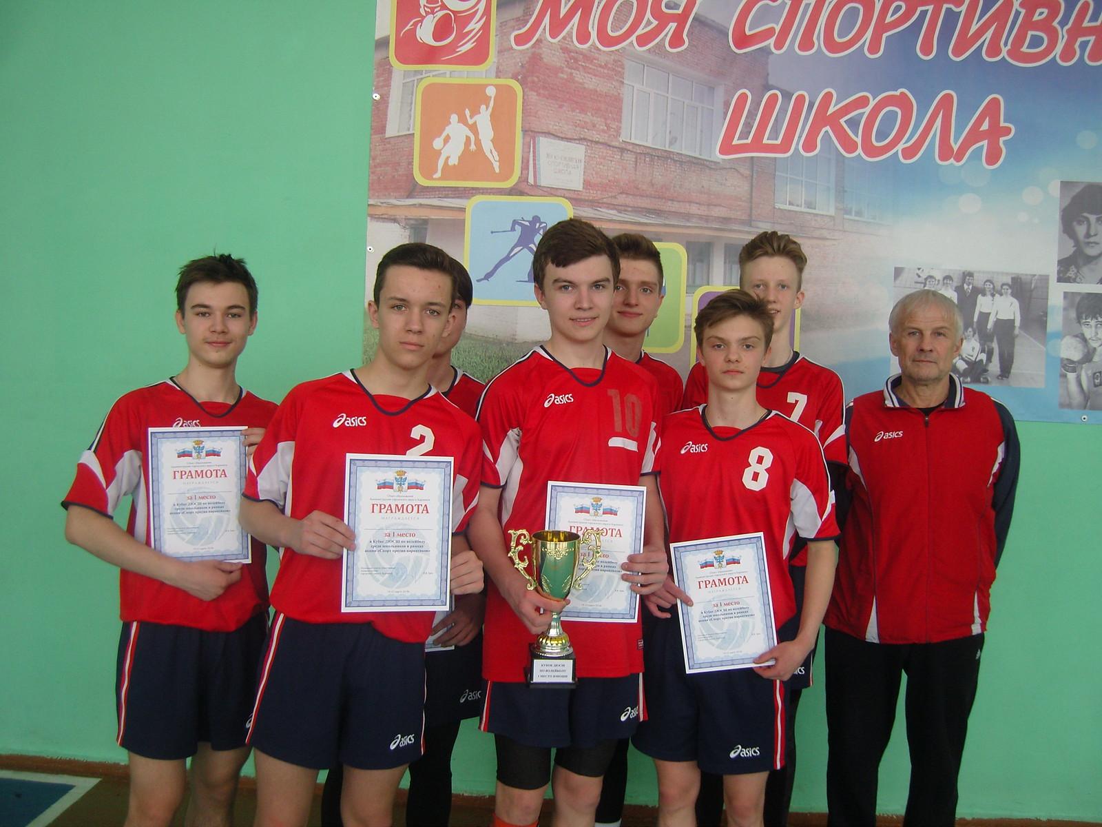 Кубок города по волейболу