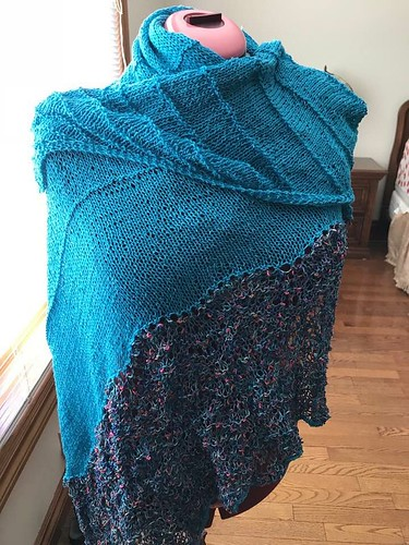 Angela's Project Peace 2017 shawl by Christina Cambell