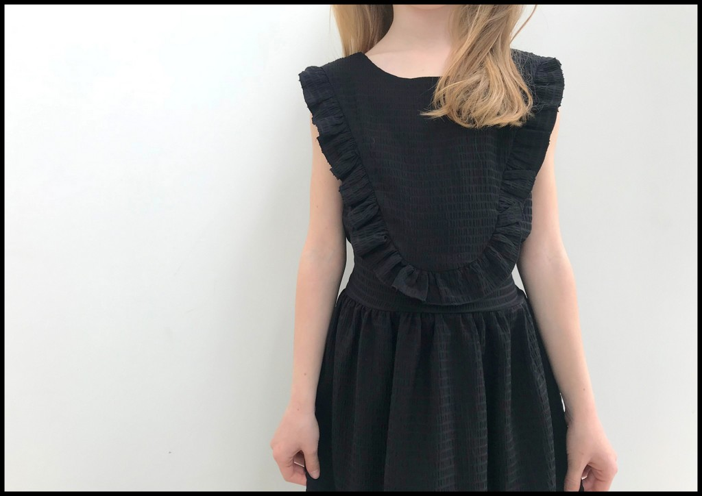 little black robin dress