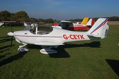 G-CEYK Europa XS (PFA247-14476) Popham 121008