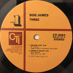 BOB JAMES:THREE(LABEL SIDE-A)