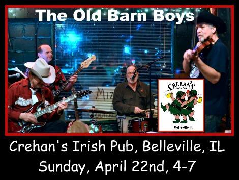 The Old Barn Boys 4-22-18