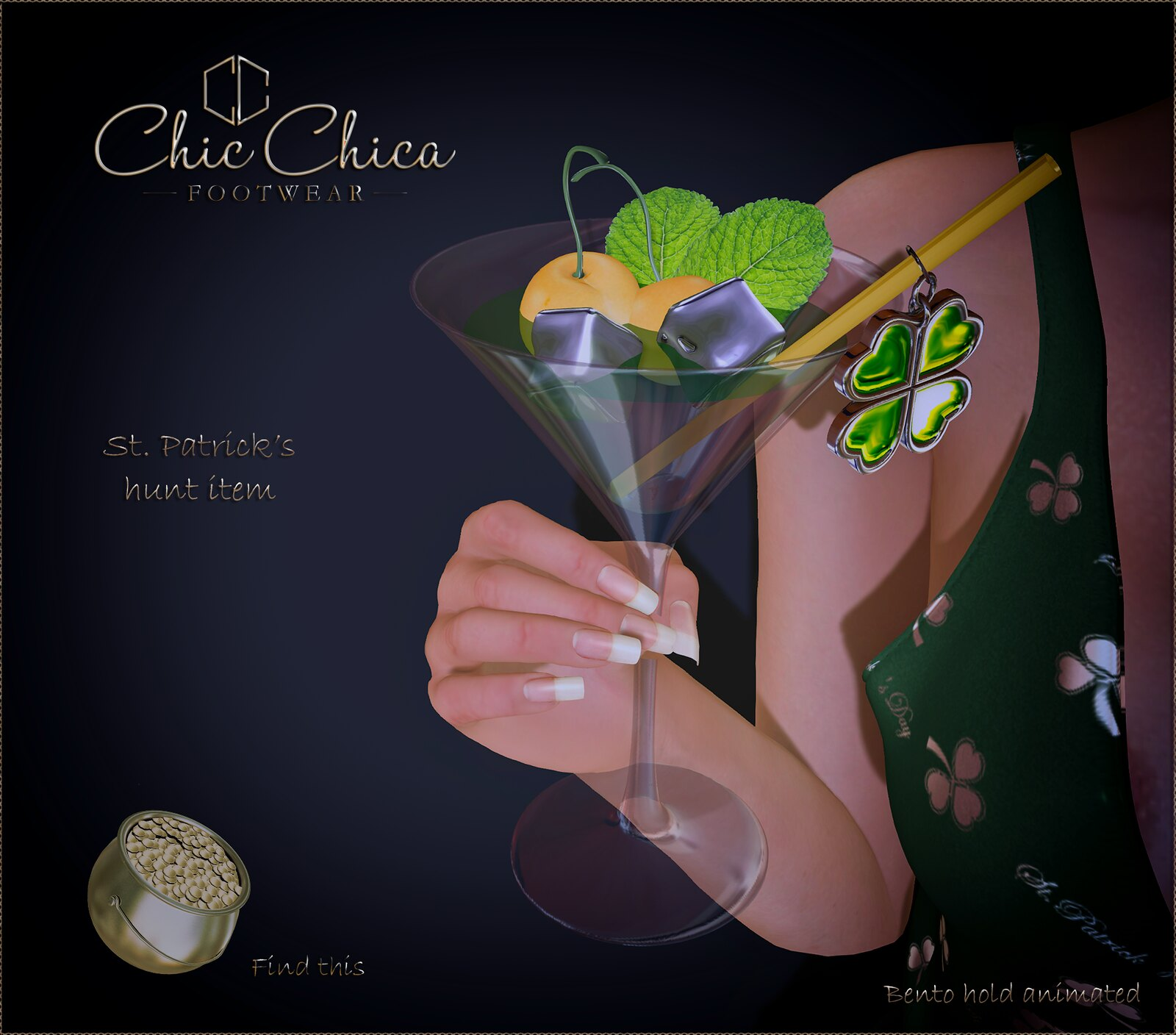 St. Patricks Hunt coctail by ChicChica