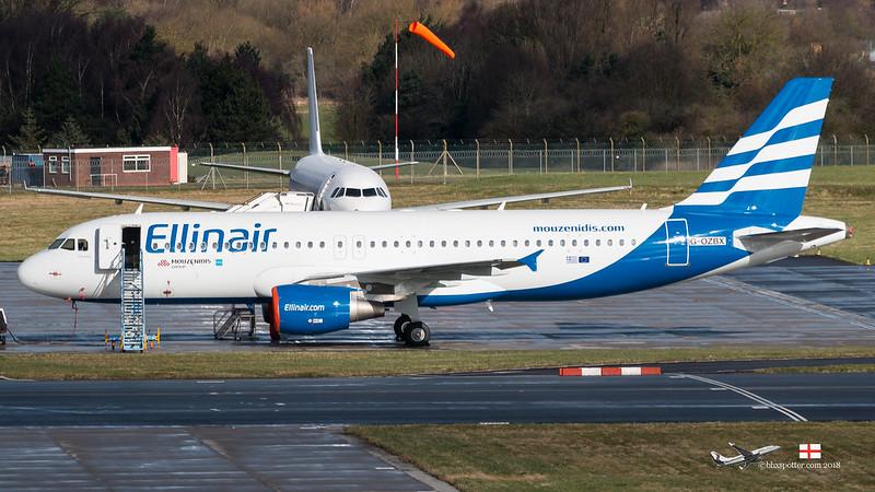 G-OZBX A320 ELLINAIR