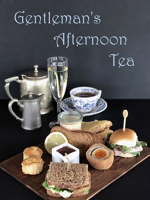gentleman's afternoon tea