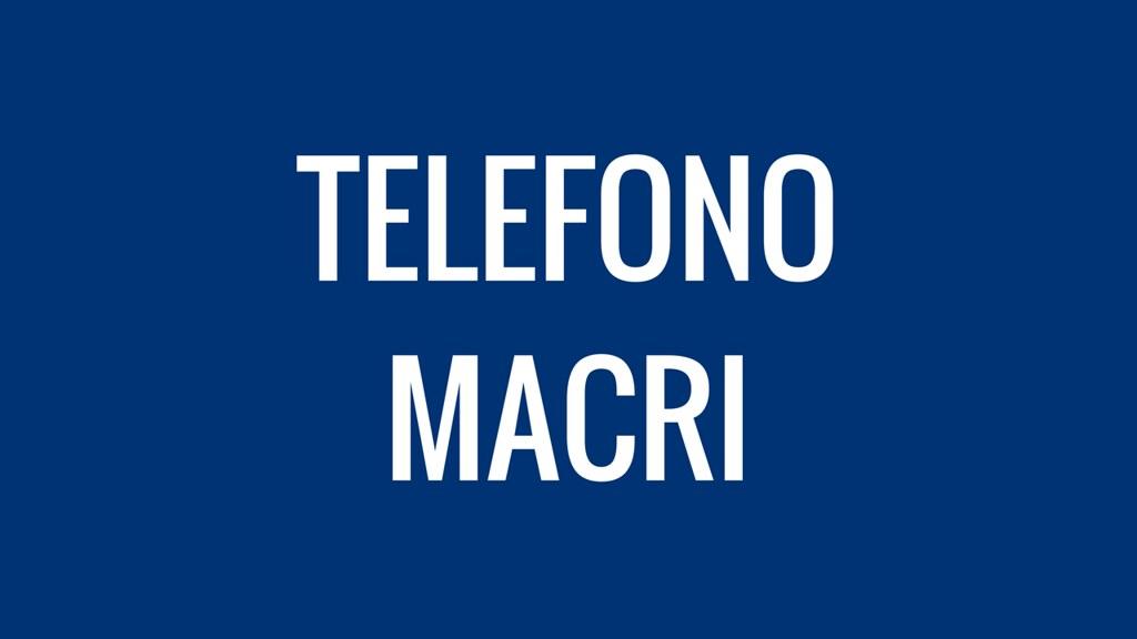 Teléfono de Mauricio Macri