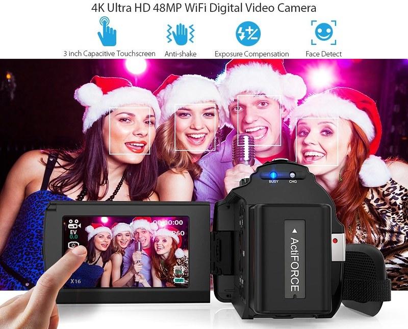 Andoer 4K ビデオカメラ (16)