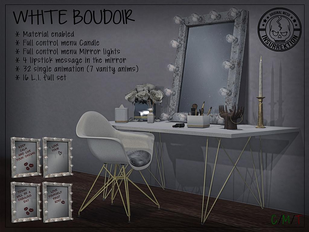 [IK] White Boudoir