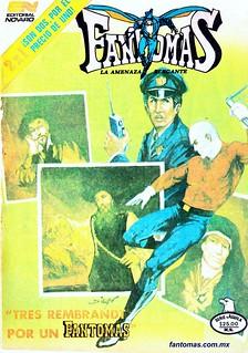 666 Tres Rembrandt por un Fantomas $$