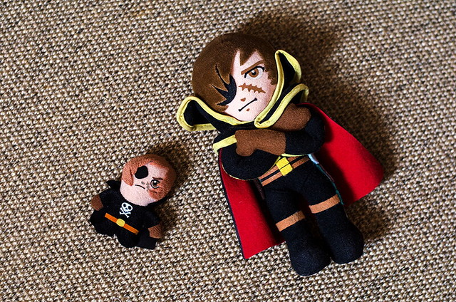 Harlock plush! ^_^