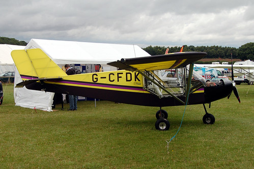 G-CFDK Rans S6 (LAA 204-14767) Popham 030808