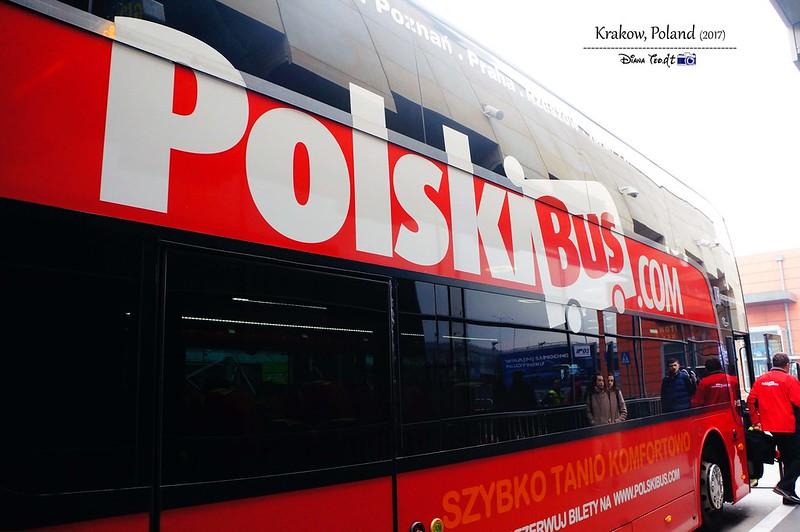 2017 Europe Krakow Polski Bus