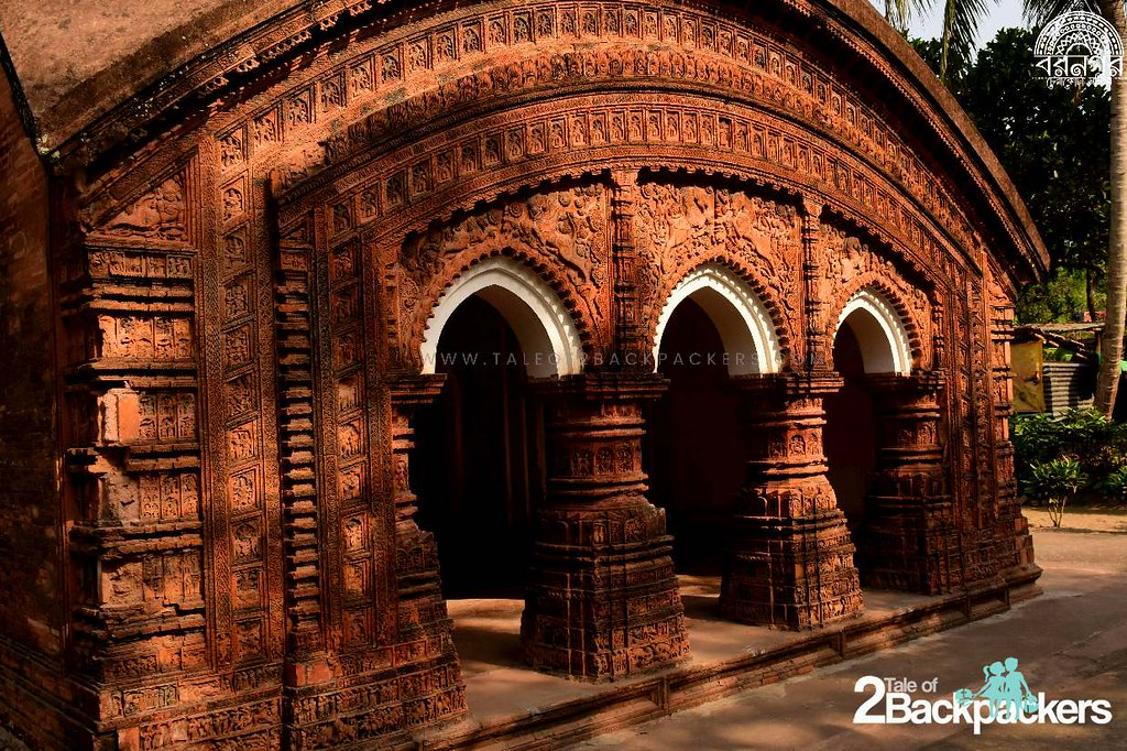 Terracotta Temples of Baranagar, Murshidabad | Tale of 2 Backpackers