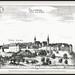 Kranj CRAINBVRG CRAINBURG Stadt und Schloß Kieselstein Ansicht der Stadt in der Oberkrain mit Blick über die Save (Sava) und die Brücke by Morton1905