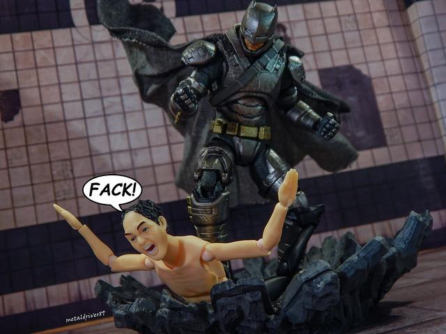 Me vs Monday (Armored Batman)