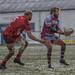 Joe Barker gets the pass away-3039