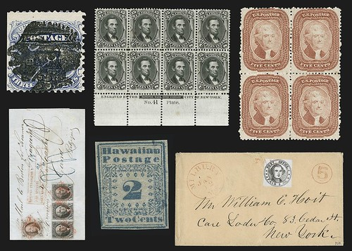 Stamps from Bill Gross collection